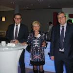 vlnr: Gerd Ohl, Marlene Schmitz, Dr. Marius Hahn