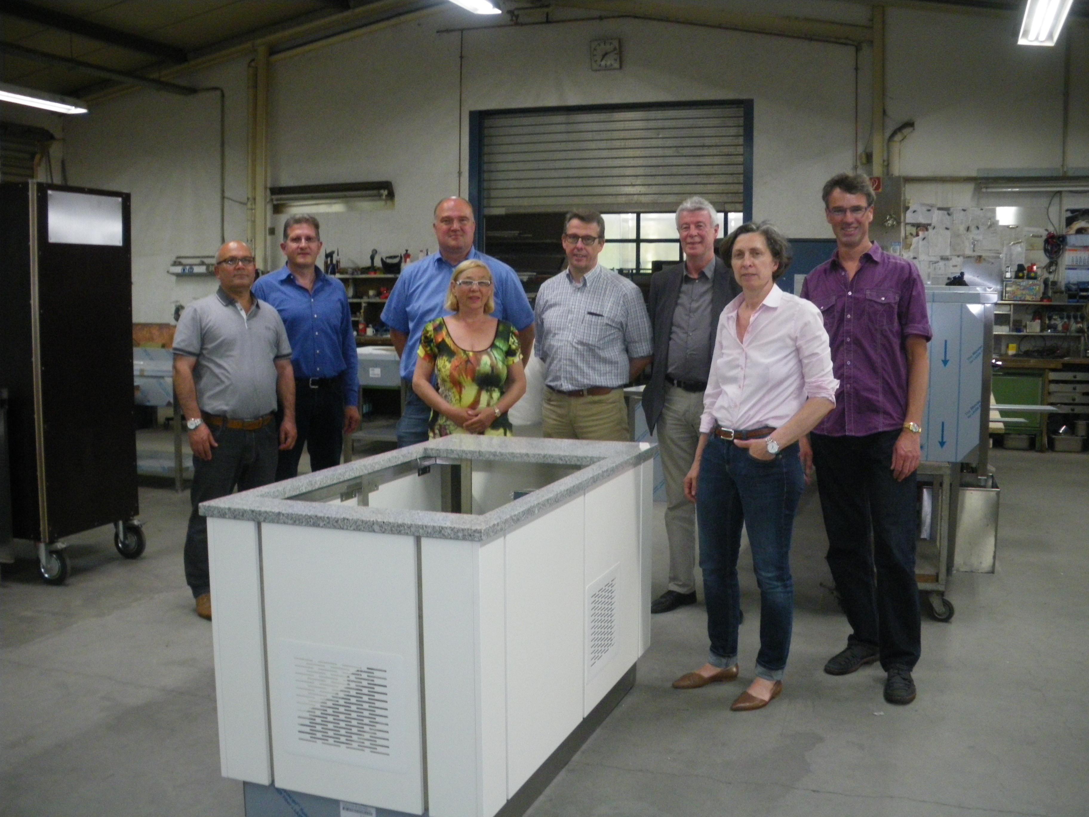 17. Mai 2017 Besichtigung HAKA Metallwarenfabrik