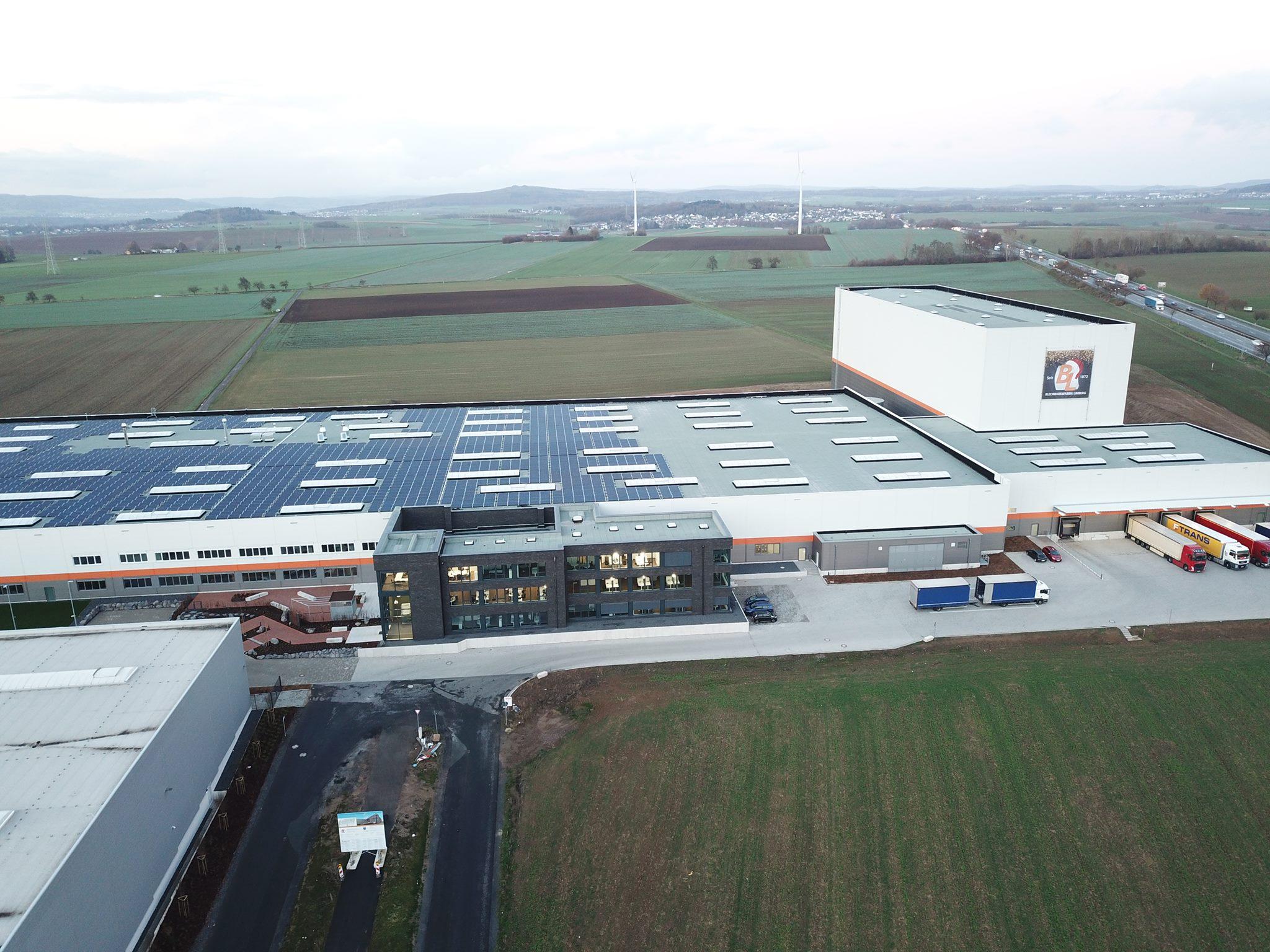 Betriebsbesichtigung der Blechwarenfabrik Limburg